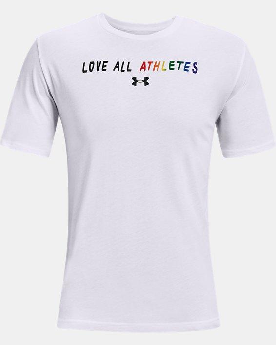 Camiseta de manga corta UA Pride Courage, White, pdpMainDesktop image number 4