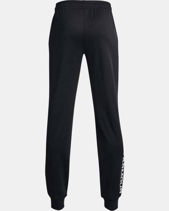 Boys' UA Brawler 2.0 Tapered Pants, Black, pdpMainDesktop image number 1