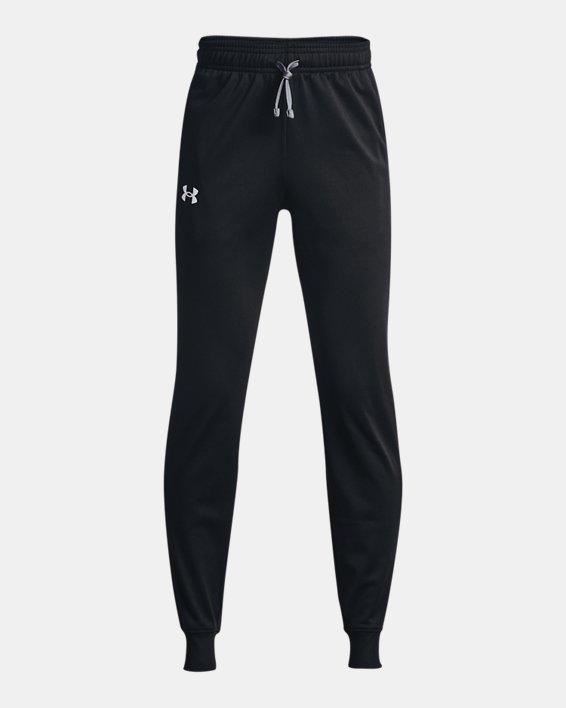 Boys' UA Brawler 2.0 Tapered Pants, Black, pdpMainDesktop image number 0
