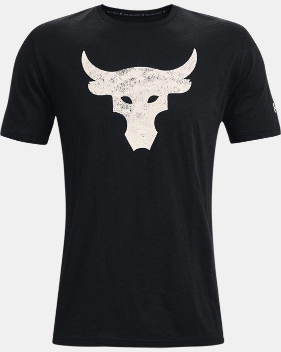 Men's Project Rock Brahma Bull Short Sleeve, Black, pdpMainDesktop image number 4