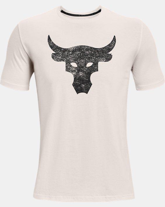 Men's Project Rock Brahma Bull Short Sleeve, White, pdpMainDesktop image number 4