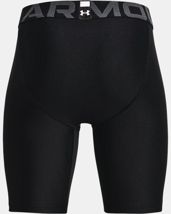 Boys' HeatGear® Armour Shorts, Black, pdpMainDesktop image number 1