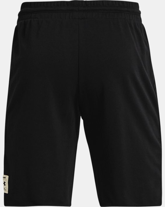 Men's Project Rock Terry Brahma Shorts, Black, pdpMainDesktop image number 5