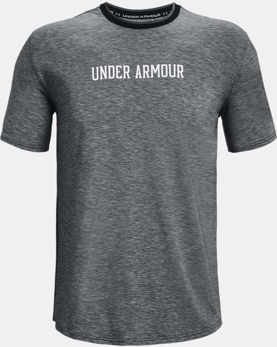 Men's UA RECOVER™ Short Sleeve, Black, pdpMainDesktop image number 4