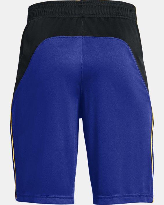 Boys' Curry SC Hoops Shorts, Blue, pdpMainDesktop image number 1