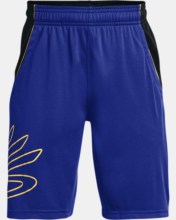 Boys' Curry SC Hoops Shorts, Blue, pdpMainDesktop image number 0