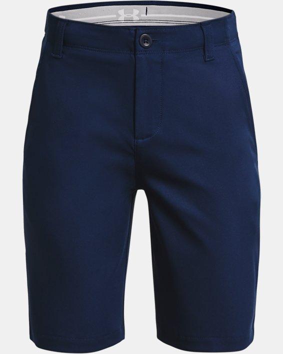 Jungen UA Showdown Shorts, Navy, pdpMainDesktop image number 0