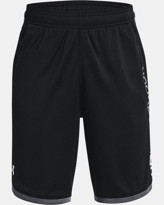 Boys' UA Stunt 3.0 Shorts, Black, pdpMainDesktop image number 0