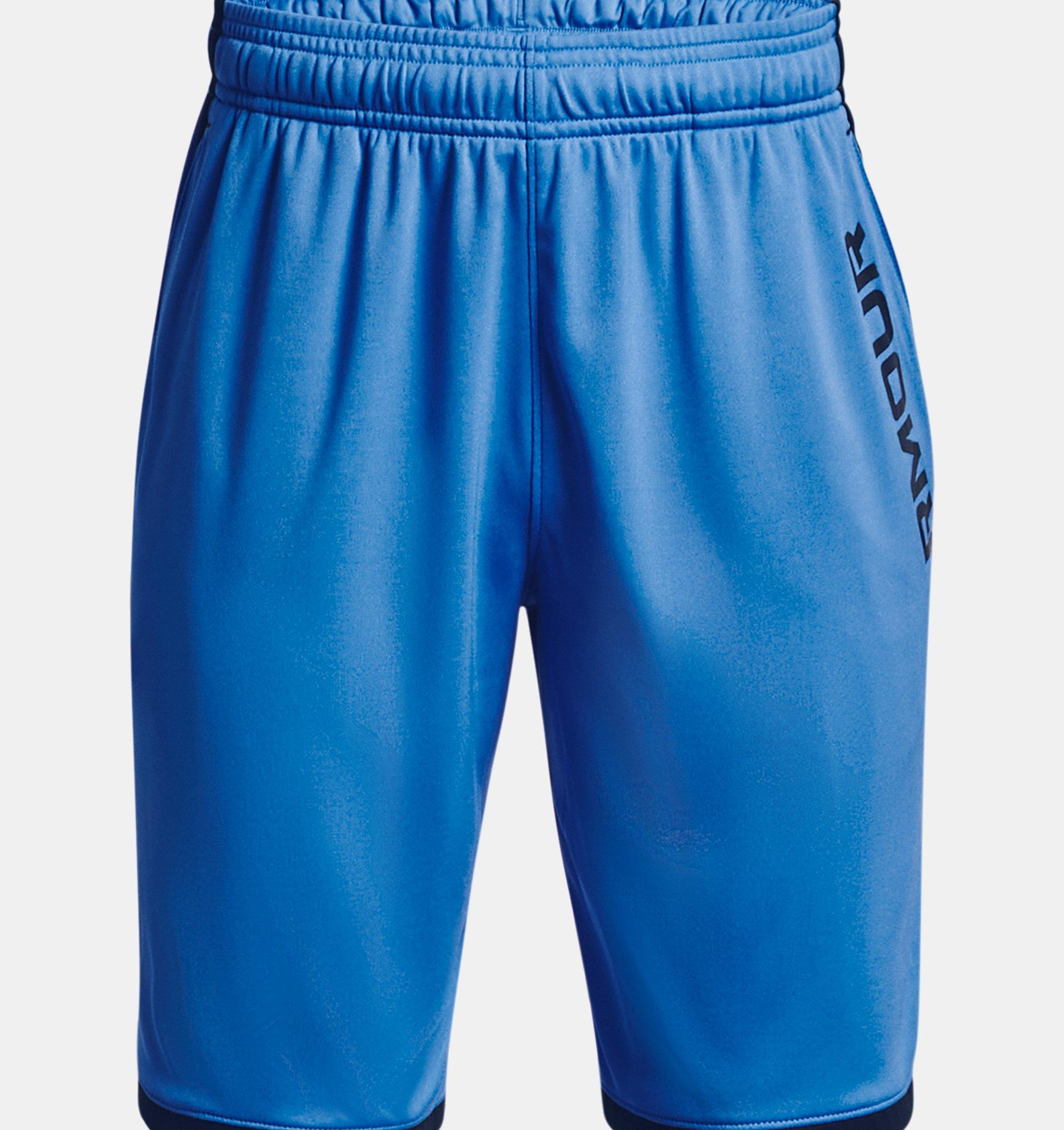 Underarmour Boys UA Stunt 3.0 Printed Shorts