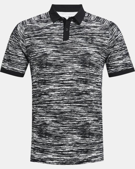 Men's UA Iso-Chill ABE Twist Polo, White, pdpMainDesktop image number 3