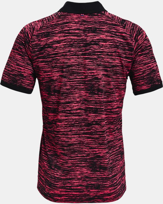 Men's UA Iso-Chill ABE Twist Polo, Pink, pdpMainDesktop image number 4