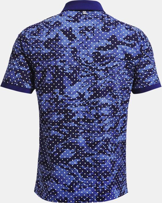Men's UA Iso-Chill Penta Dot Polo, Blue, pdpMainDesktop image number 4