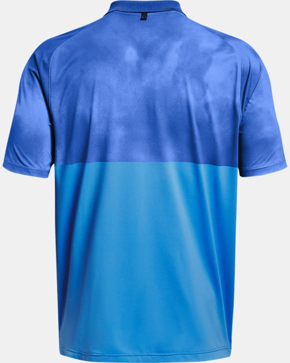 Men's UA Iso-Chill Afterburn Polo, Blue, pdpMainDesktop image number 4
