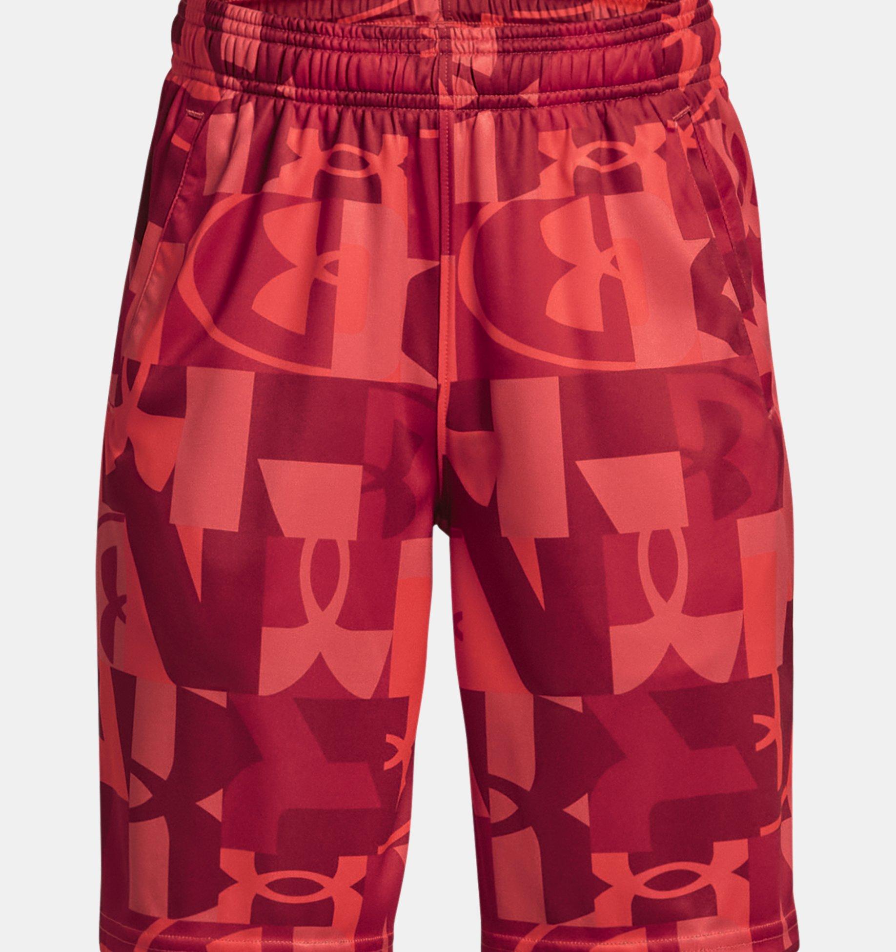 Underarmour Boys UA Renegade 3.0 Printed Shorts