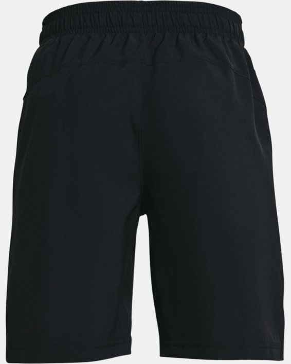 Pantalón corto UA Woven para niño, Black, pdpMainDesktop image number 1