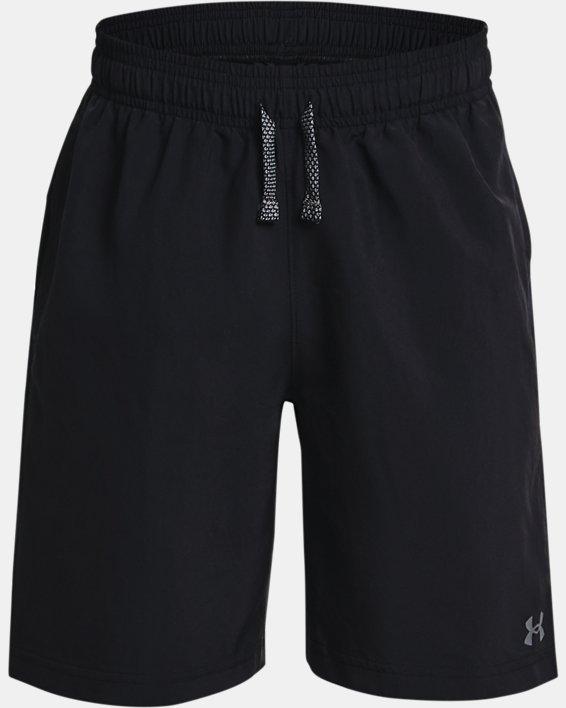 Pantalón corto UA Woven para niño, Black, pdpMainDesktop image number 0