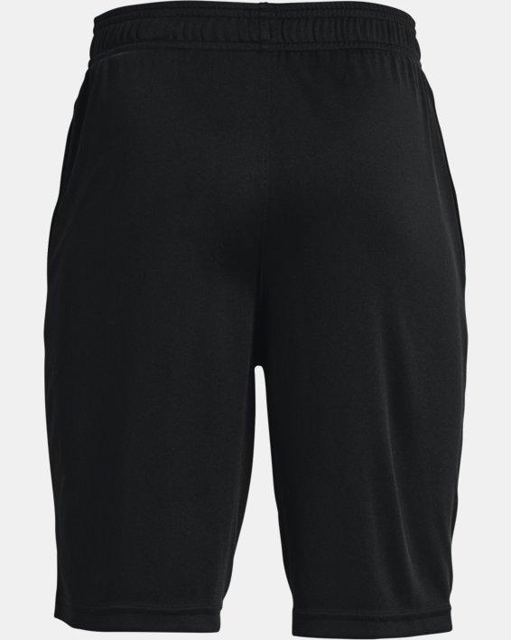 Boys' UA Prototype 2.0 Logo Shorts, Black, pdpMainDesktop image number 1