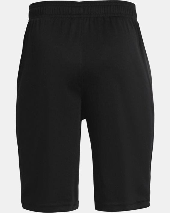 Boys' UA Prototype 2.0 Wordmark Shorts, Black, pdpMainDesktop image number 1
