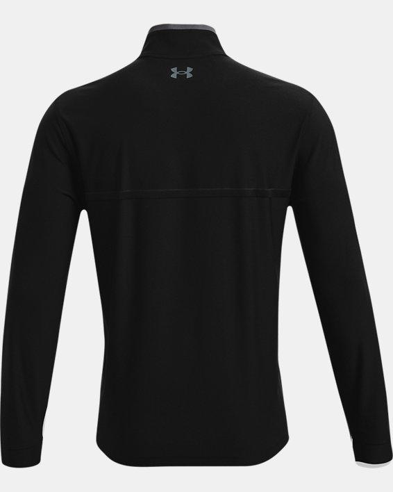 Men's UA Playoff 2.0 ¼ Zip, Black, pdpMainDesktop image number 4