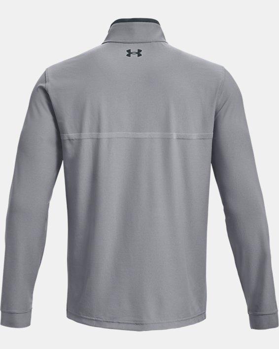 Men's UA Playoff 2.0 ¼ Zip, Gray, pdpMainDesktop image number 4