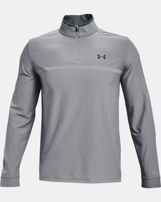 Men's UA Playoff 2.0 ¼ Zip, Gray, pdpMainDesktop image number 3
