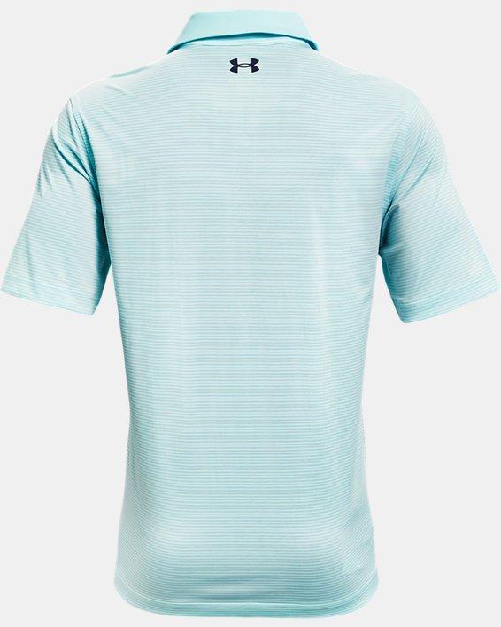 Men's UA Performance Stripe Polo, Blue, pdpMainDesktop image number 5