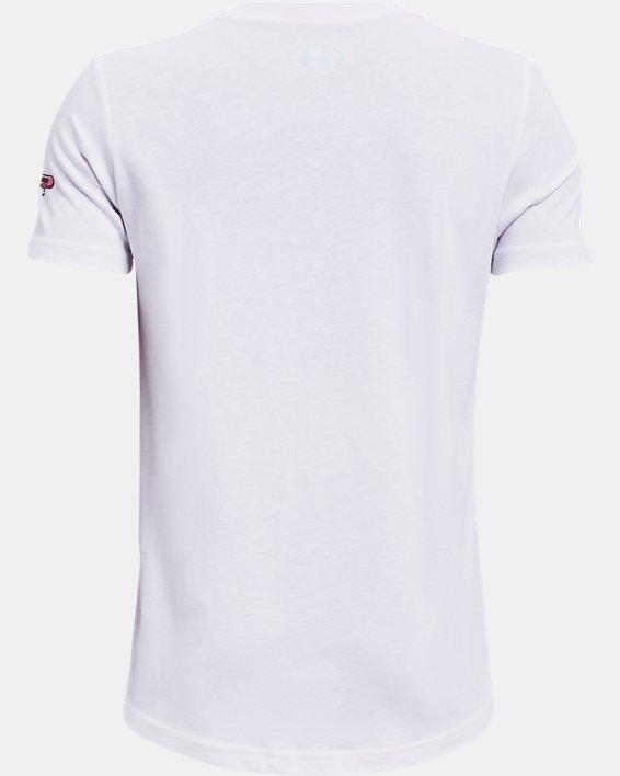 Boys' UA Popsicle Short Sleeve, White, pdpMainDesktop image number 1