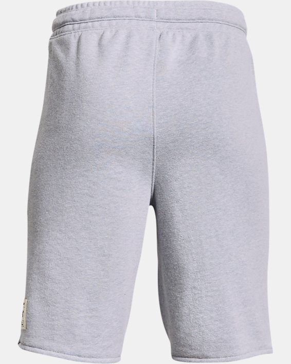 Boys' Project Rock Terry Shorts, Gray, pdpMainDesktop image number 1