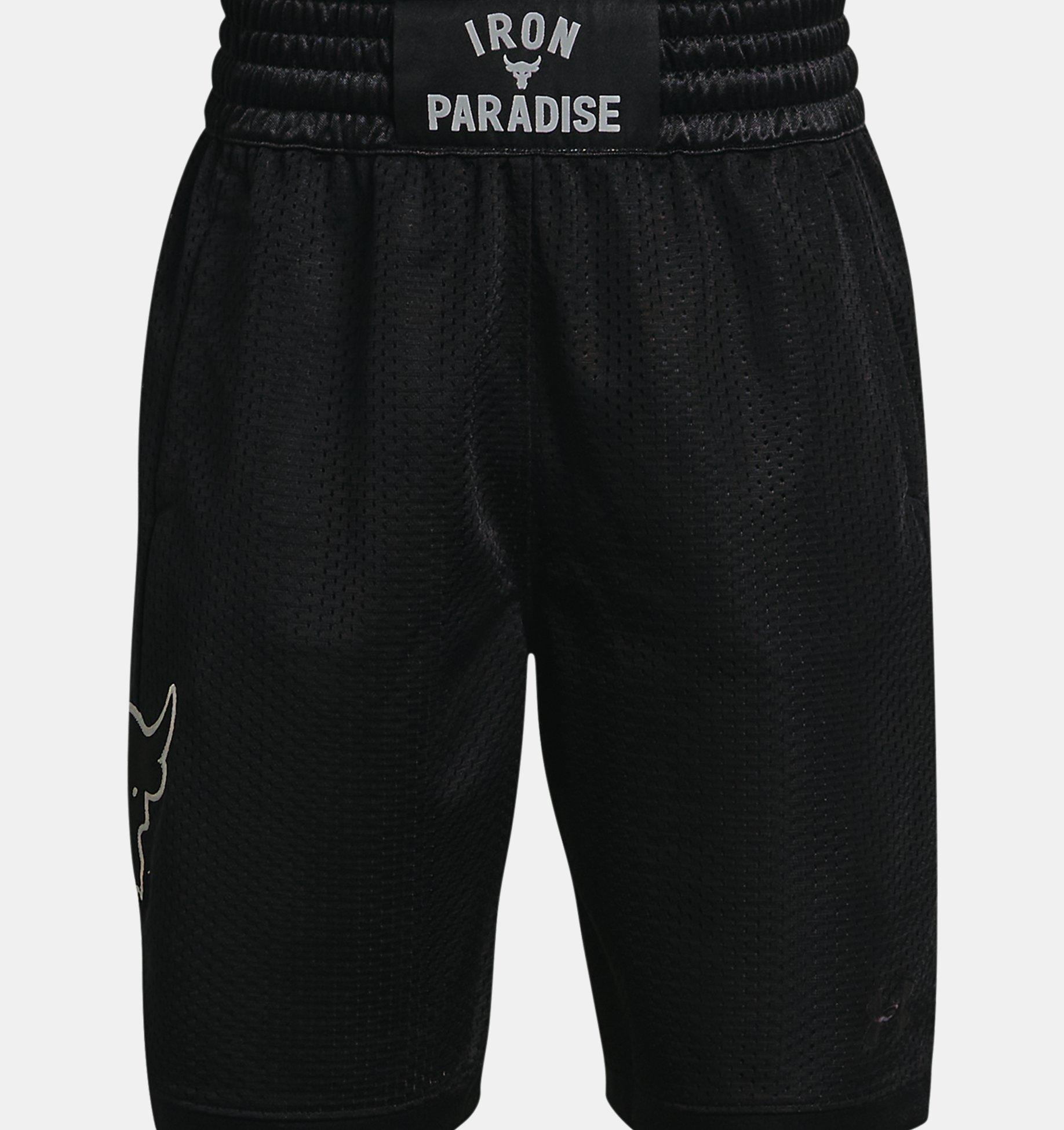 Underarmour Boys Project Rock Rumble Shorts
