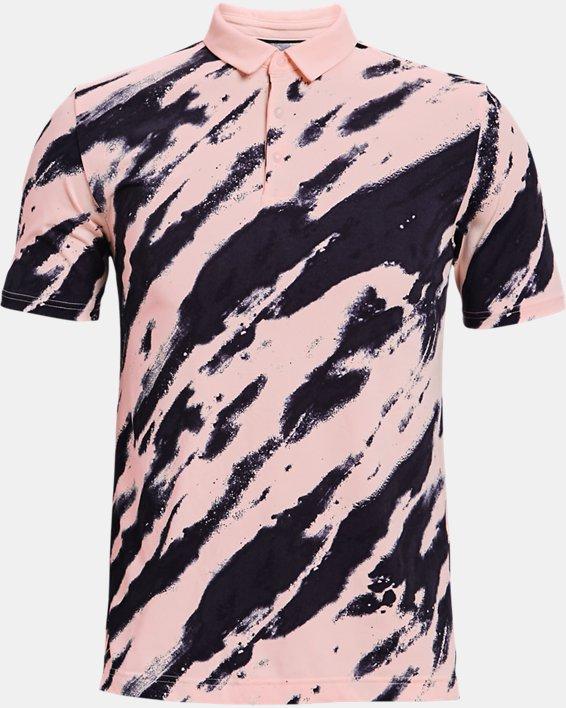Men's Curry Vanish Printed Polo, Pink, pdpMainDesktop image number 3