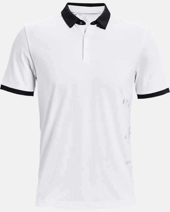 Men's Curry Vanish Polo, White, pdpMainDesktop image number 3
