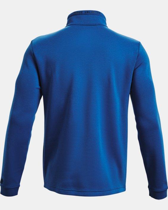 Men's Curry Mock ½ Zip, Blue, pdpMainDesktop image number 5