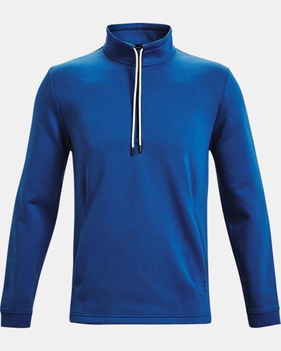 Men's Curry Mock ½ Zip, Blue, pdpMainDesktop image number 4