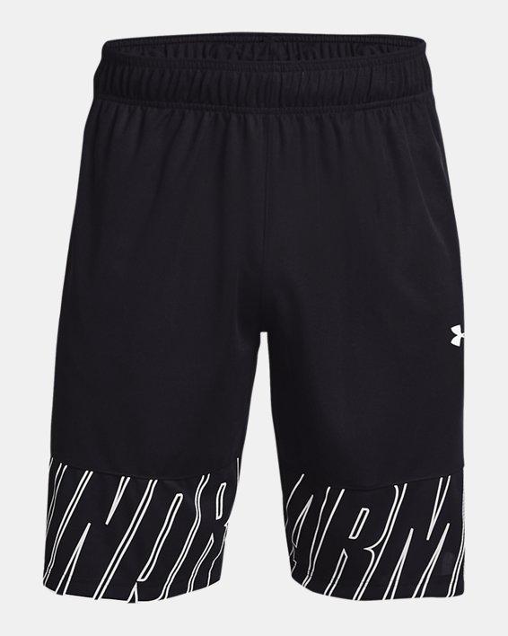 "Men's UA Baseline Speed 10"" Shorts, Black, pdpMainDesktop image number 4"