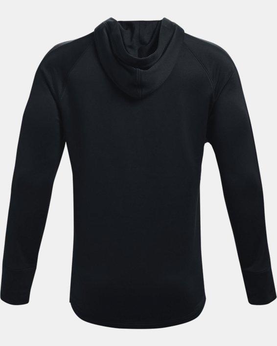 Men's UA Baseline Hoodie, Black, pdpMainDesktop image number 4