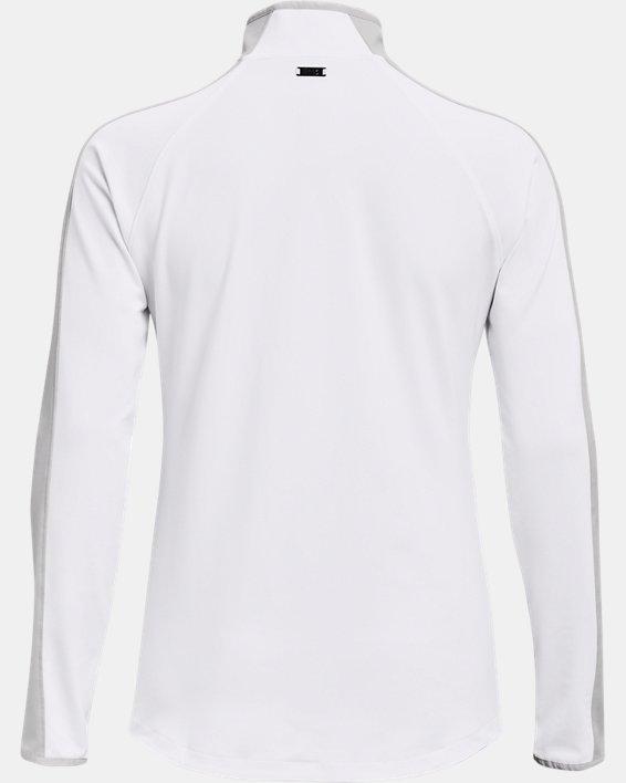 Damen UA Storm Midlayer mit ½ Zip, White, pdpMainDesktop image number 5