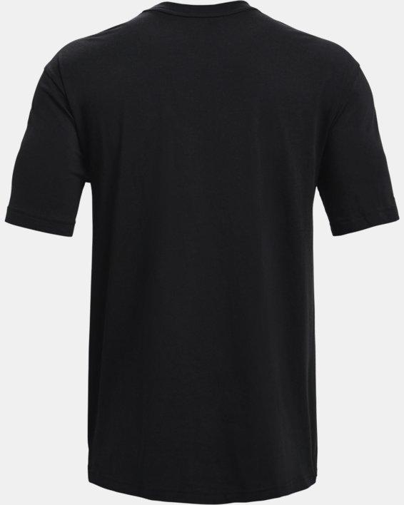 Men's UA Baseline Essential T-Shirt, Black, pdpMainDesktop image number 5