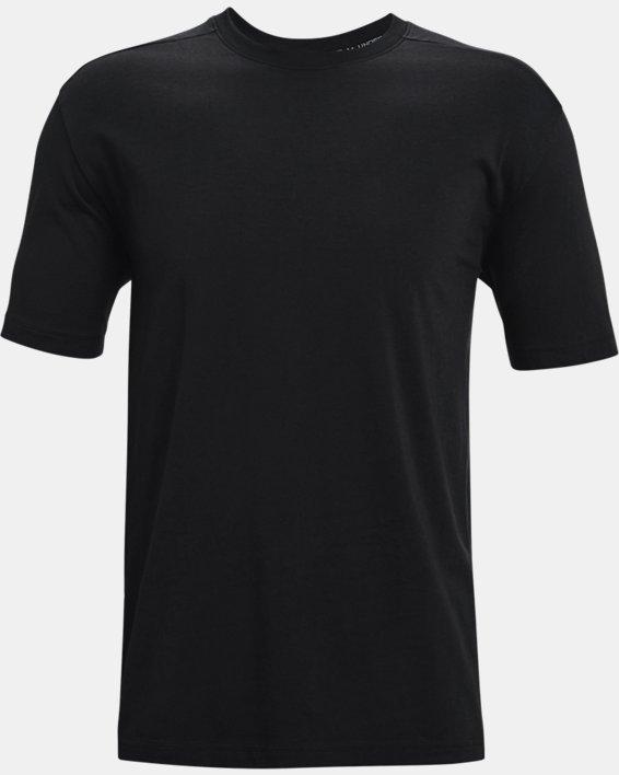 Men's UA Baseline Essential T-Shirt, Black, pdpMainDesktop image number 4