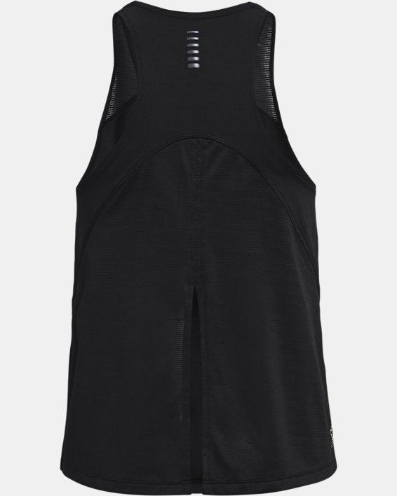 Women's UA Iso-Chill Run Tank, Black, pdpMainDesktop image number 5