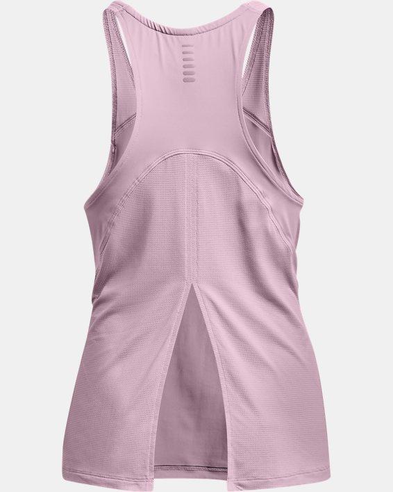 Women's UA Iso-Chill Run Tank, Pink, pdpMainDesktop image number 5