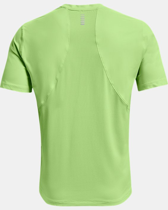 Men's UA Iso-Chill Run Short Sleeve, Green, pdpMainDesktop image number 6