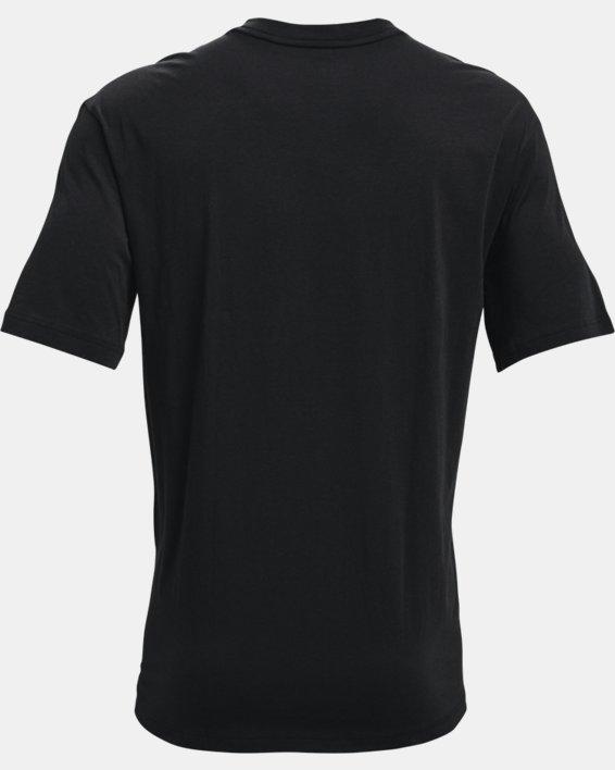 Men's UA Embiid 21 T-Shirt, Black, pdpMainDesktop image number 4