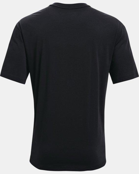 Men's UA Embiid Gold Mine T-Shirt, Black, pdpMainDesktop image number 4