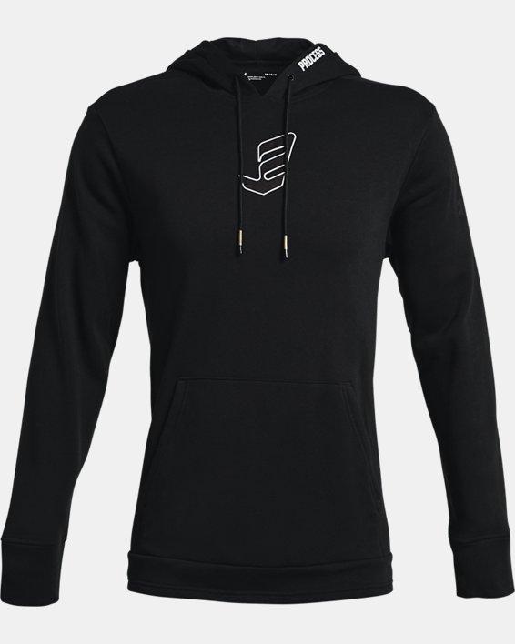 Men's UA Embiid Signature Hoodie, Black, pdpMainDesktop image number 3
