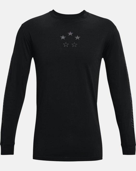 Men's Curry ASG Long Sleeve, Black, pdpMainDesktop image number 4
