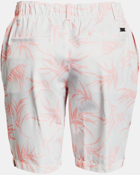 Women's UA Links Printed Shorts, White, pdpMainDesktop image number 5