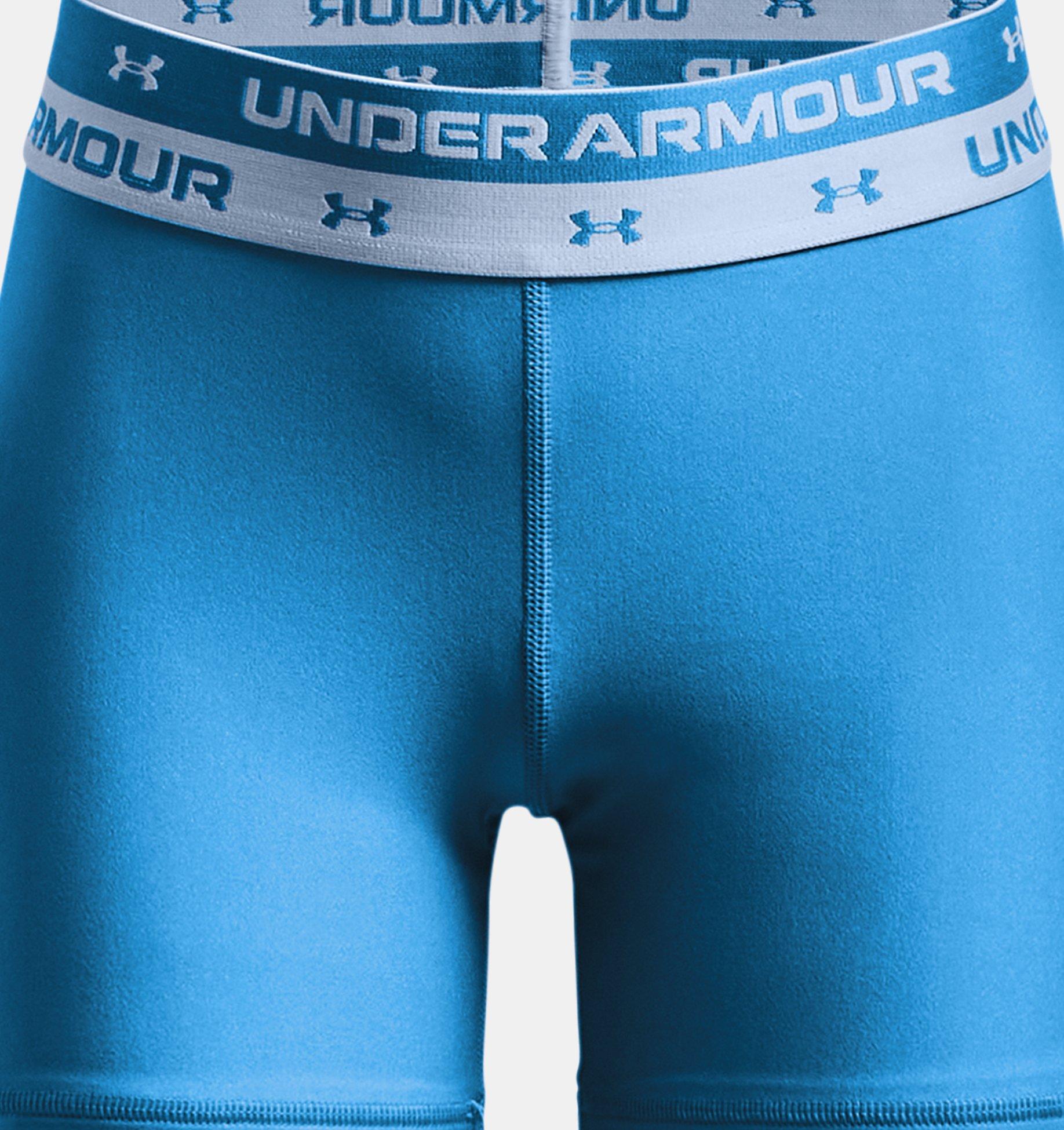Underarmour Girls HeatGear Armour Middy Shorts