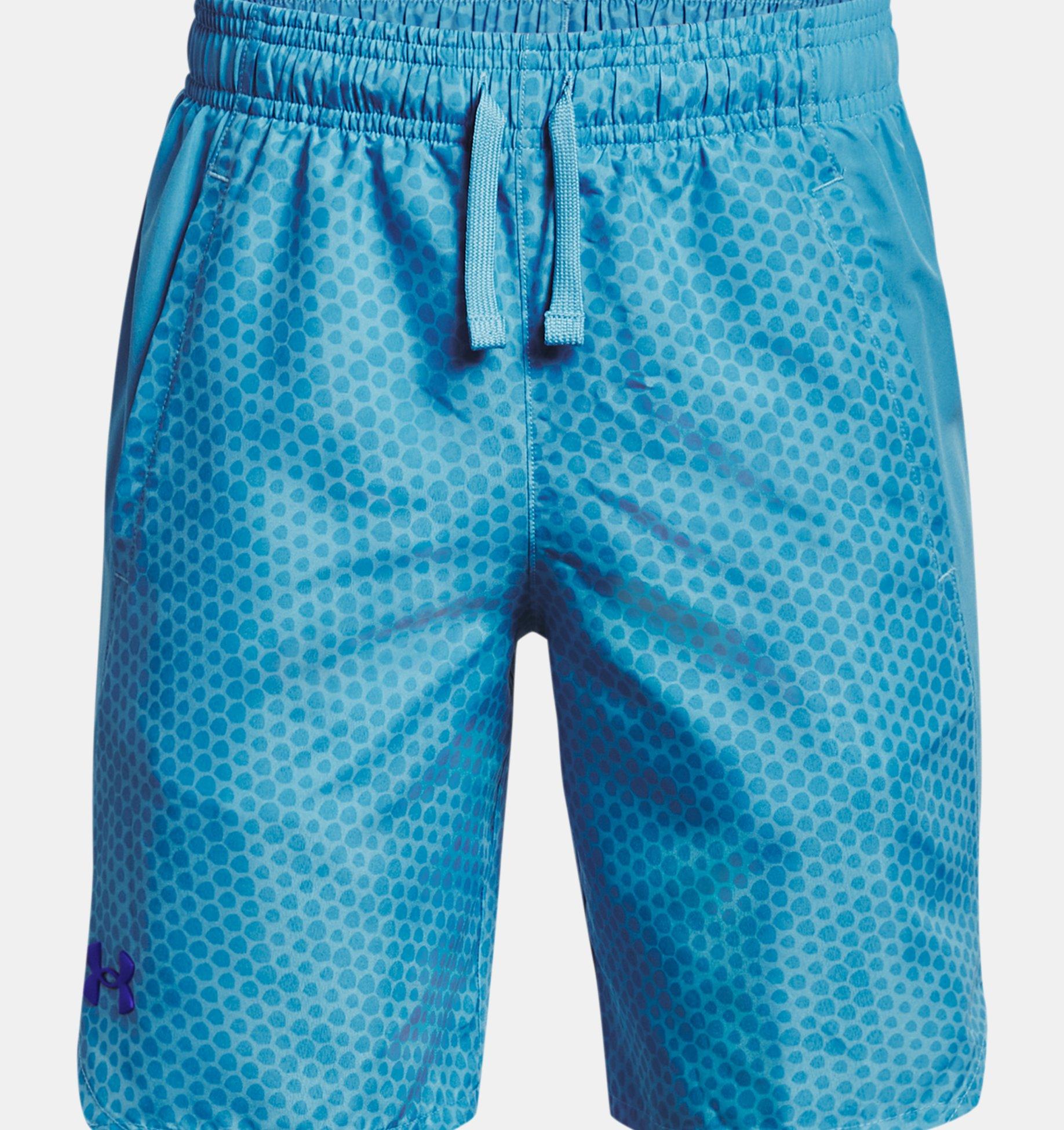 Underarmour Boys UA X-Level Woven Printed Shorts