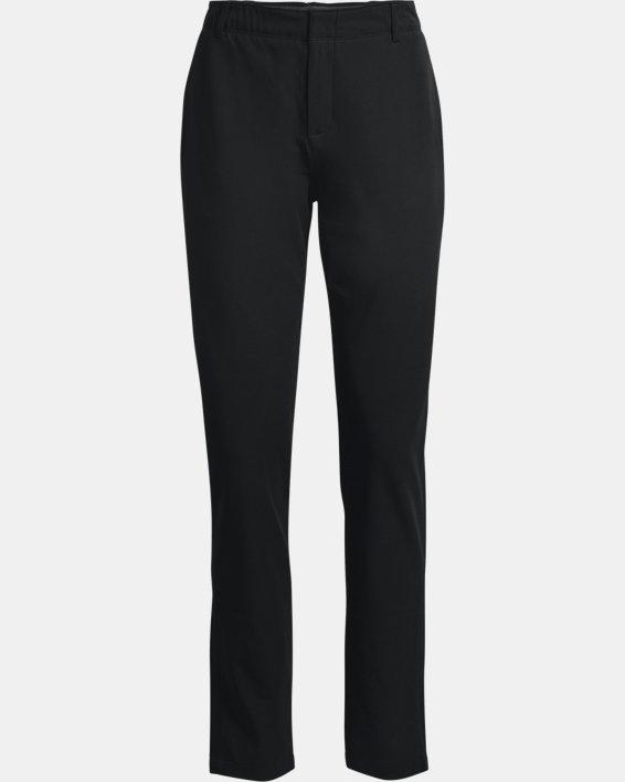 Women's UA Links Pants, Black, pdpMainDesktop image number 3