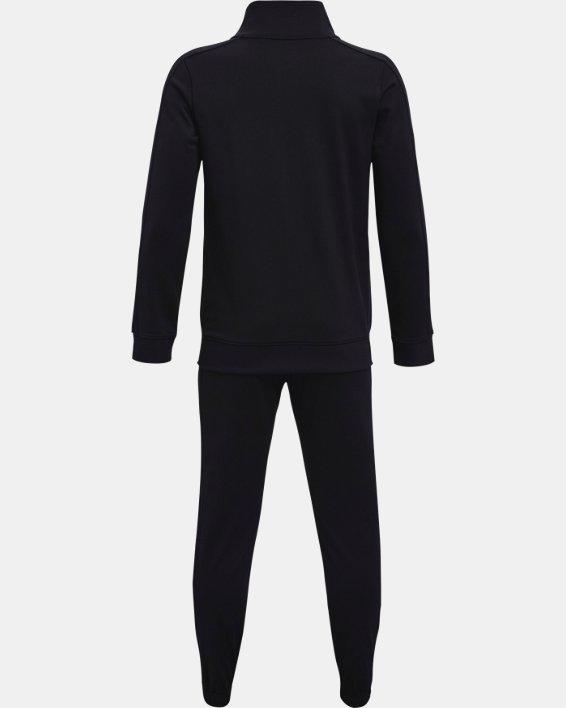 Boys' UA Knit Track Suit, Black, pdpMainDesktop image number 1